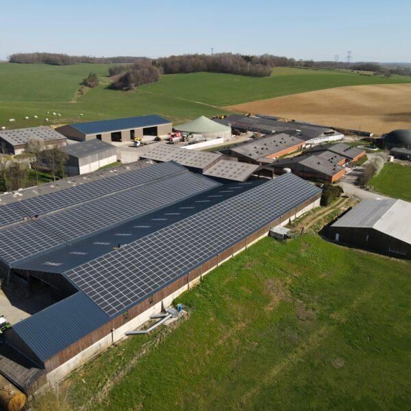 Bâtiment agricole photovoltaïque l Silicéo